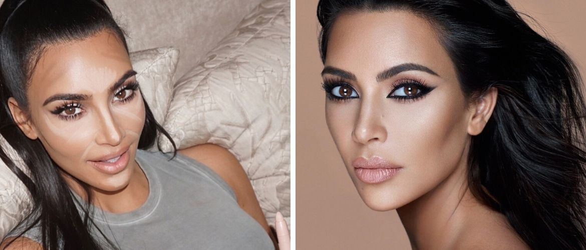 Makeup secrets: how to visually reduce the nose size
