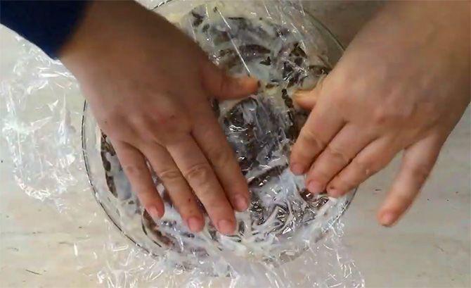 Lebkuchen mit Kondensmilch