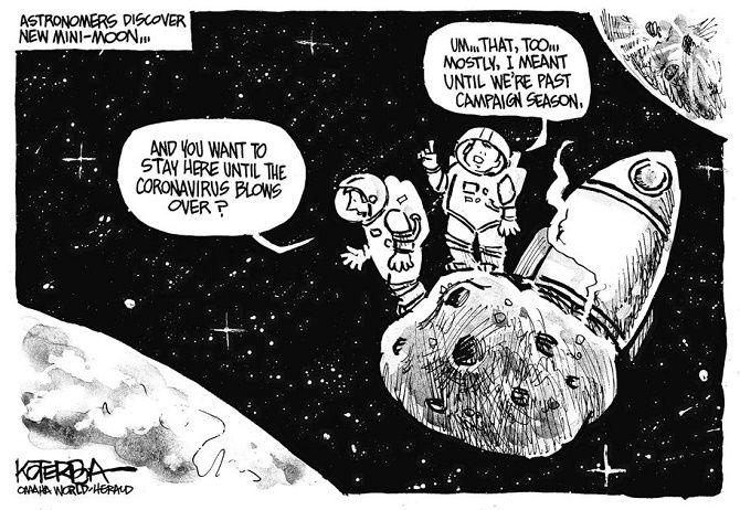 карикатуры коронавирус