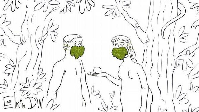 карикатуры о коронавирусе