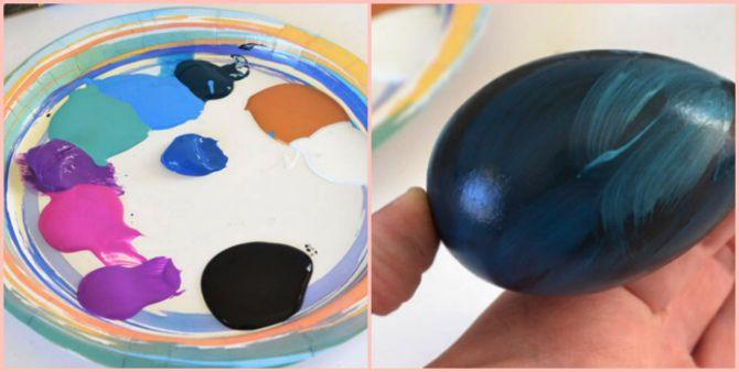 як пофарбувати яйця на Великдень