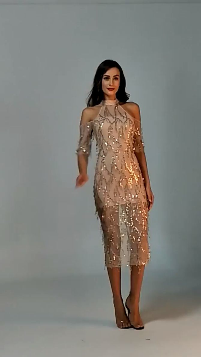 платья миди 2020