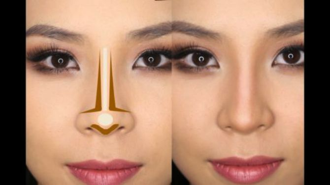 how to make your nose look thinner