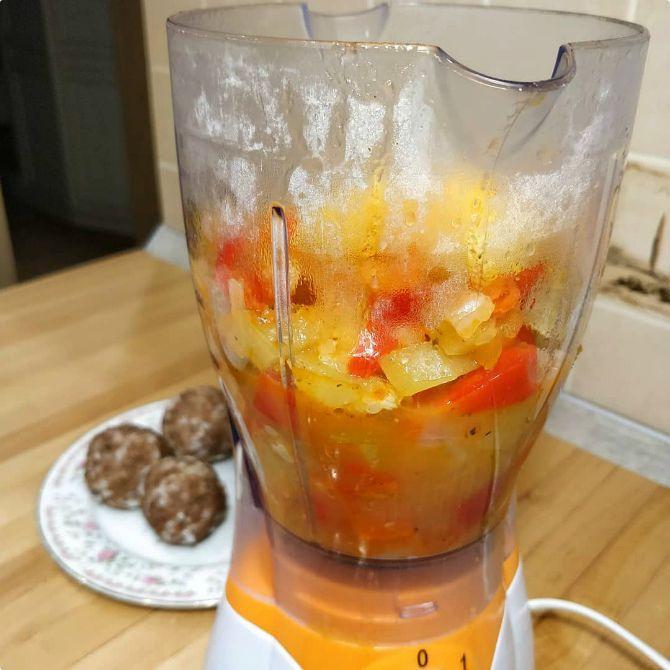крем суп калорийность
