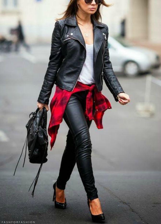 кожаные брюки женские 2020