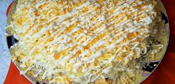 рецепт салата для праздника