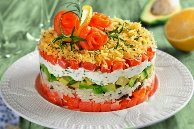 салат на день народження