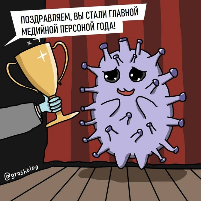 коронавирус открытие года