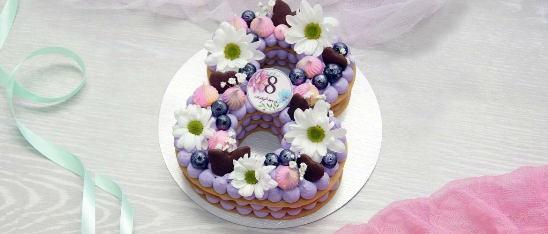 Торт-вісімка під силу кожному: покроковий рецепт з фото