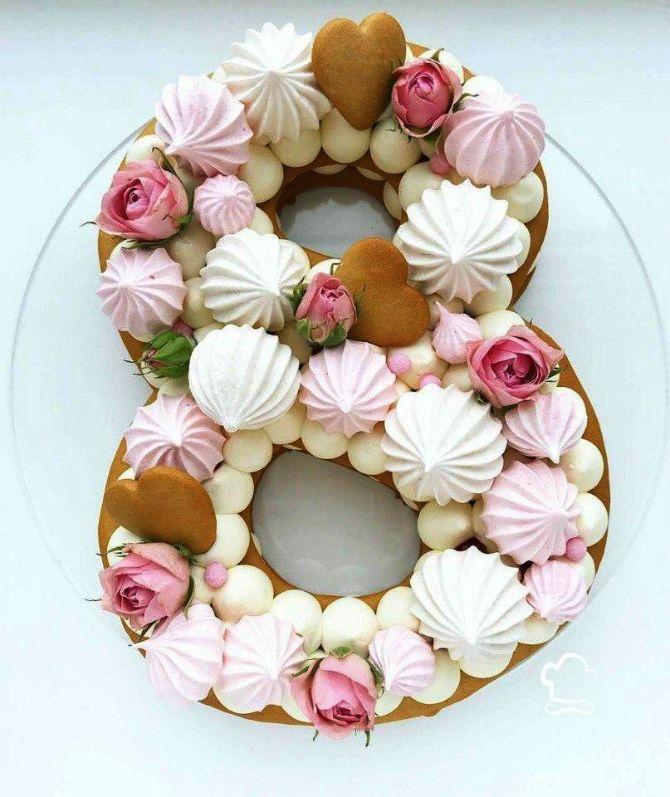 Торт «8»