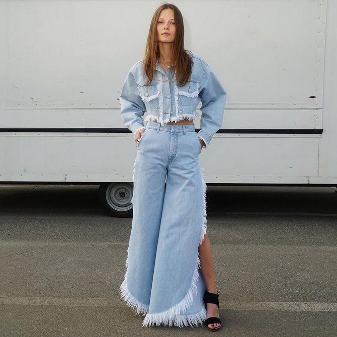 Широкие джинсы 2020