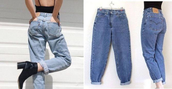 З чим носити джинси-банани в 2021 році: 45 модних ідей 1