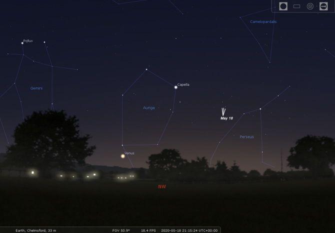 комета C/2019 Y4 (ATLAS)