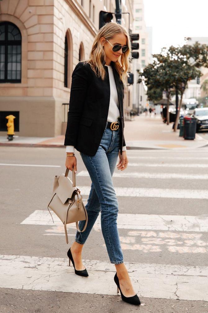 джинсы слим 2020