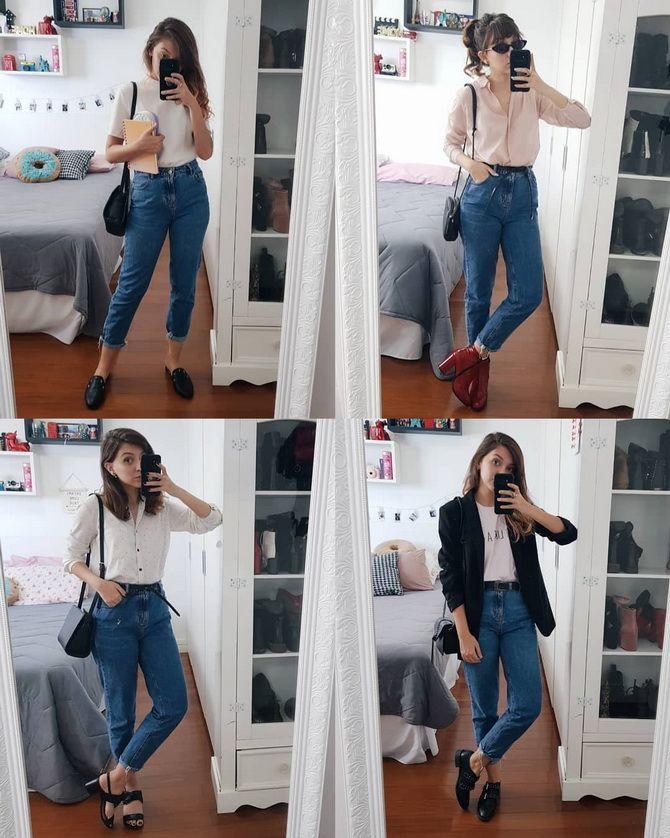 мом джинс
