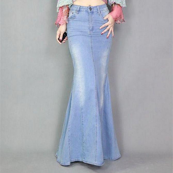 длинные юбки фото