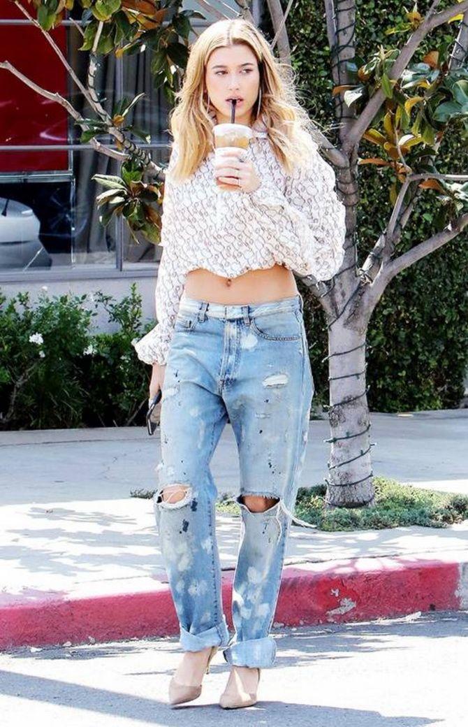 джинсы бойфренды фото