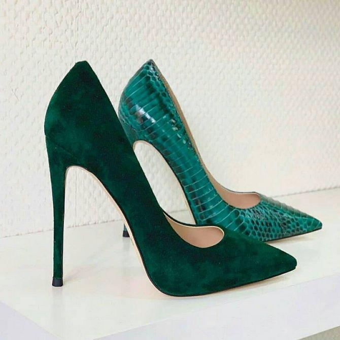 изумрудные туфли