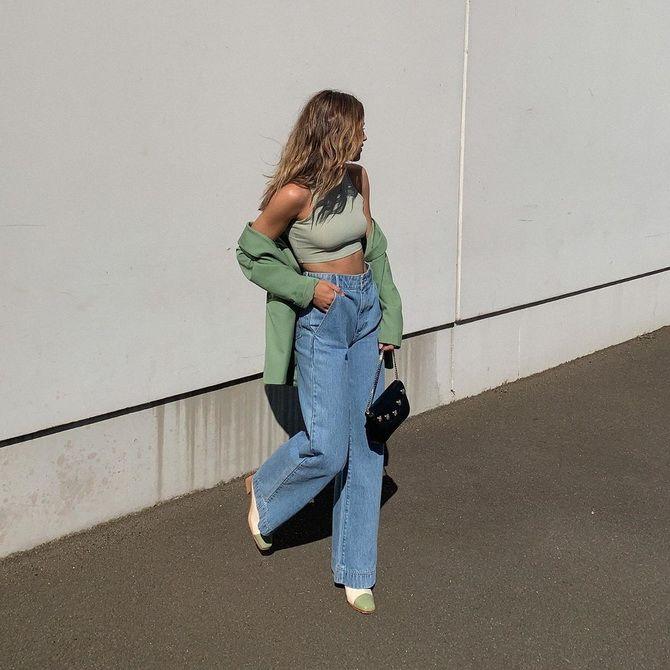 Кому идут широкие джинсы
