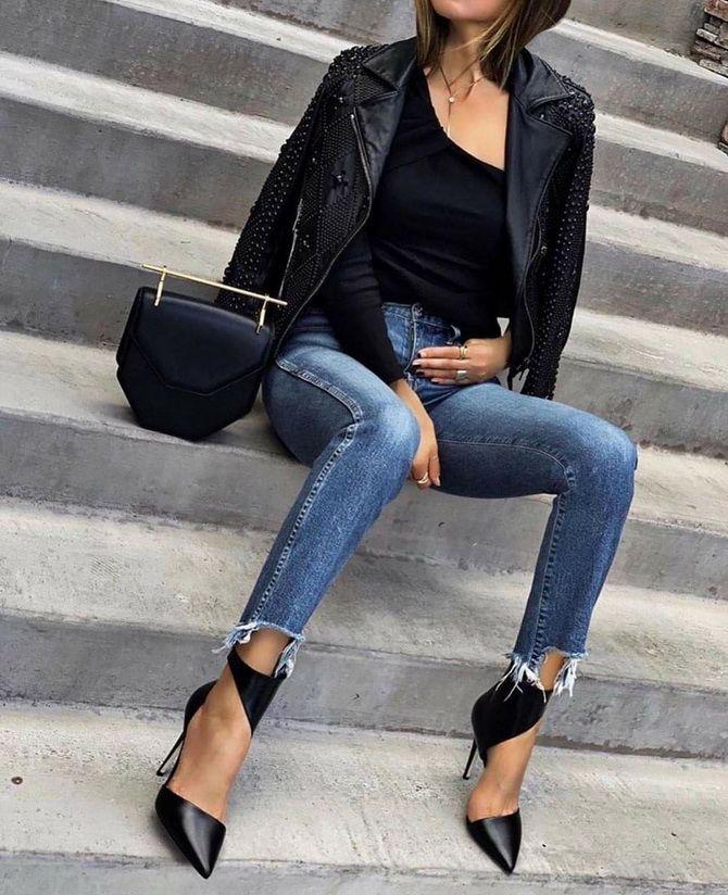 джинсы скинни женские 2020
