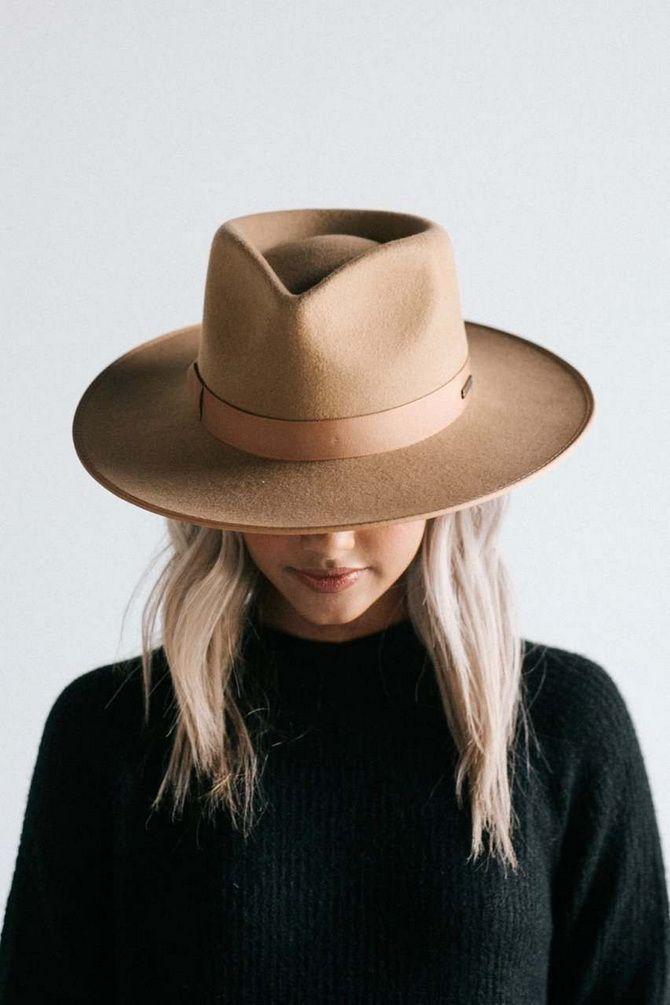 с чем носить Шляпа федора