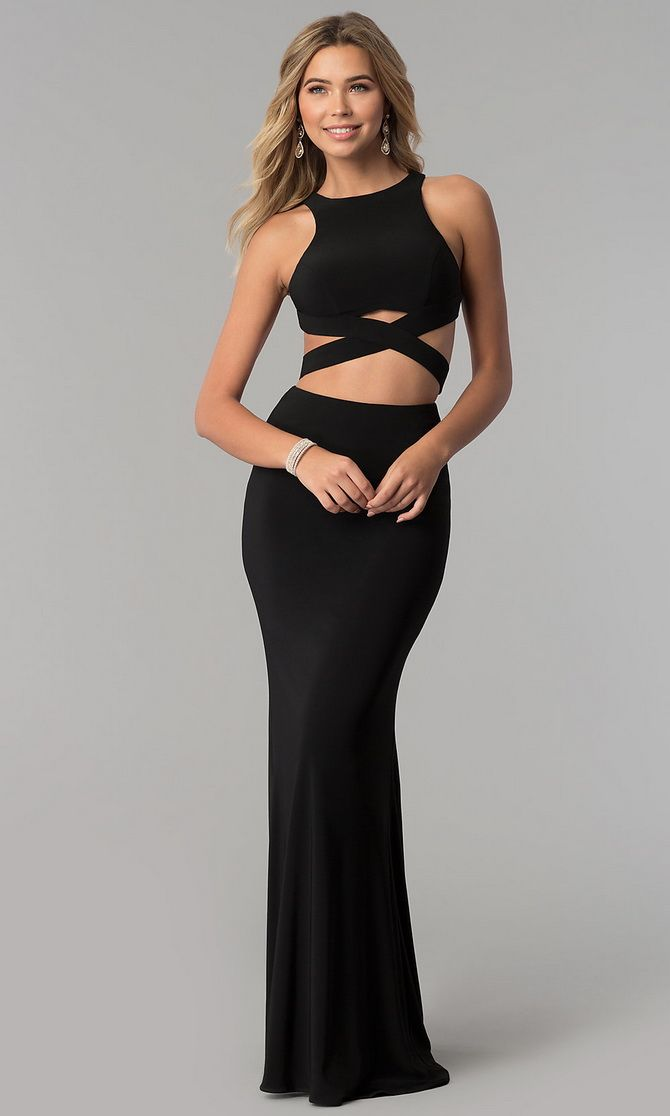 элегантные кроп-платья 2020
