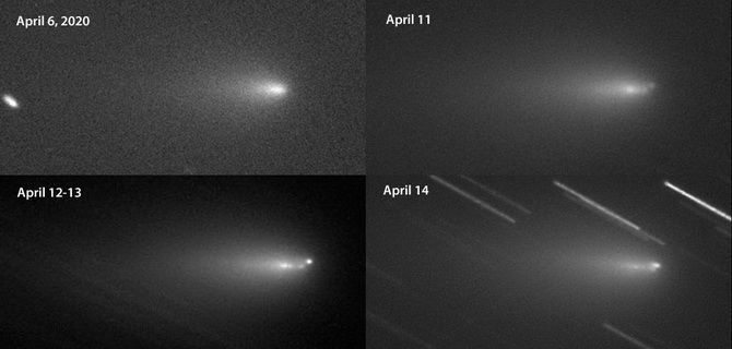 Комета ATLAS