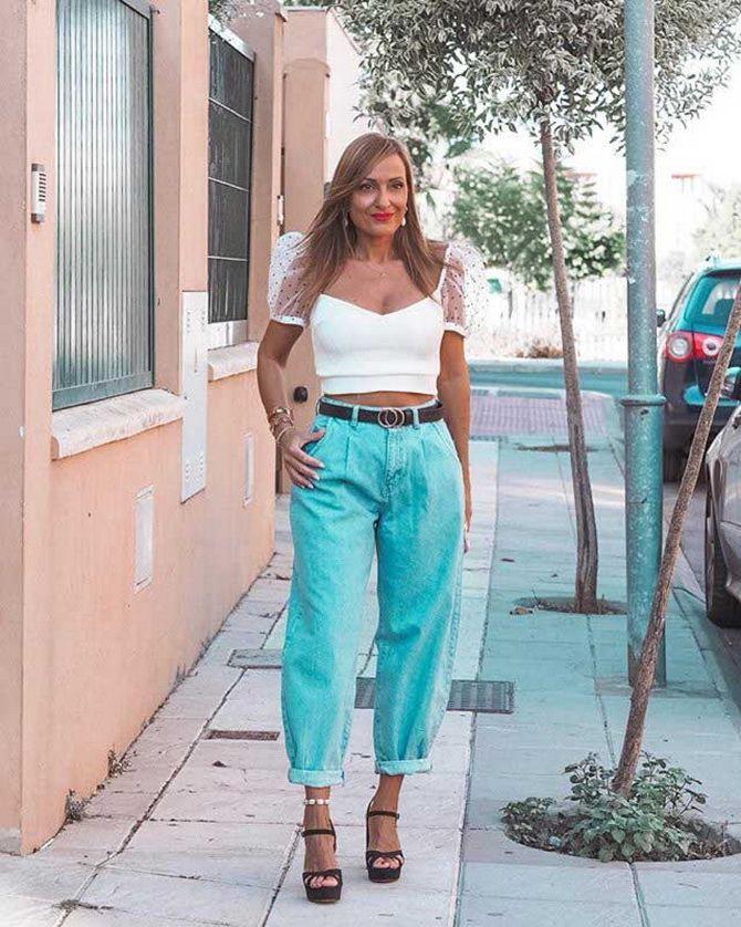 слоуч джинсы