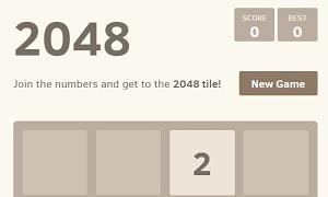 Онлайн игра 2048