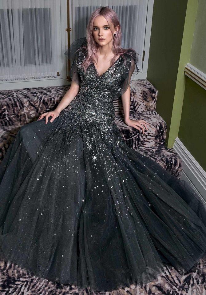 платье металлик