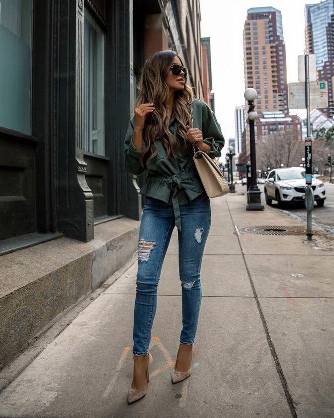 джинсы скинни женские фото