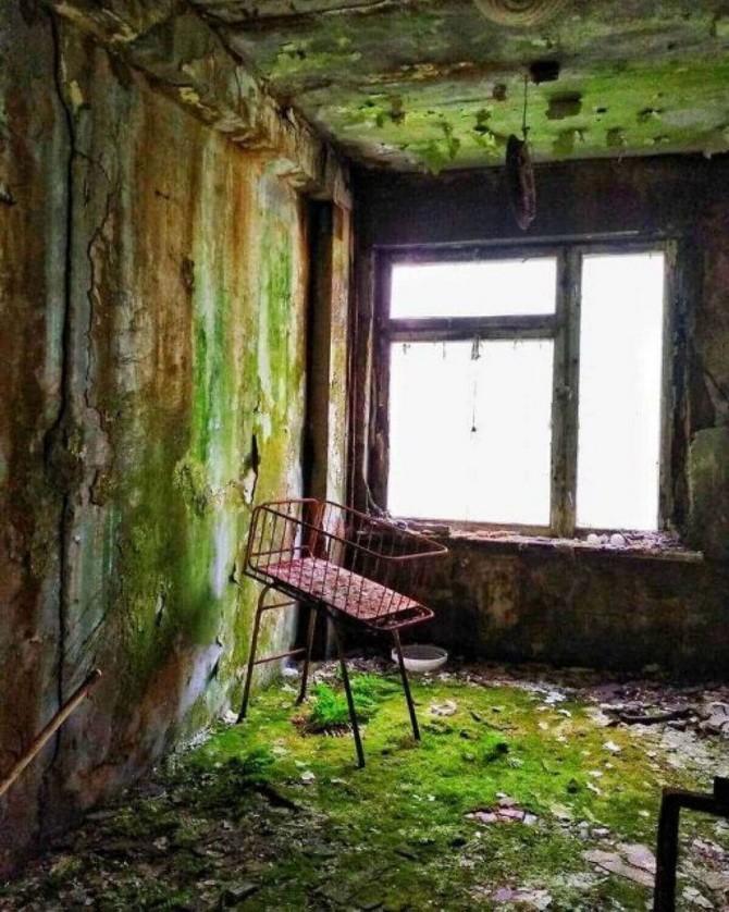 чернобыль заброшенный дом