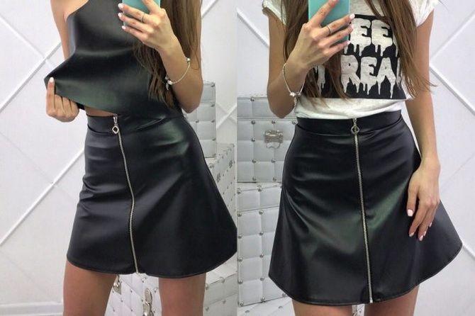 расклешенные модели юбки