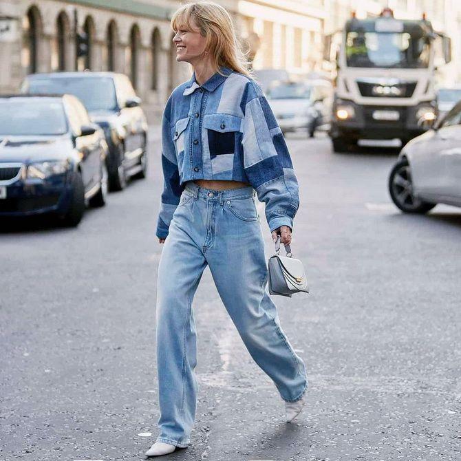 как называются широкие джинсы