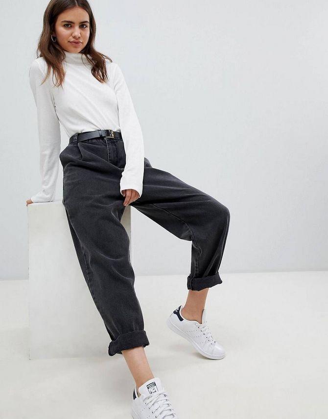 джинсы бойфренды размеры