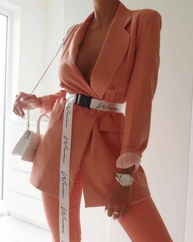 удлиненный пиджак женский фото