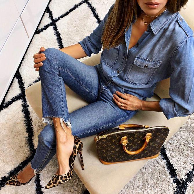 джинсы скинни 2020