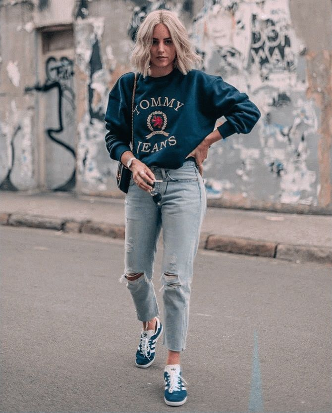 джинсы мом и бойфренды