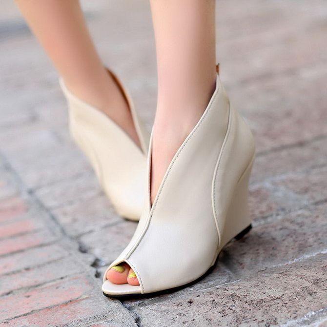 модели женских туфлей на низком каблуке