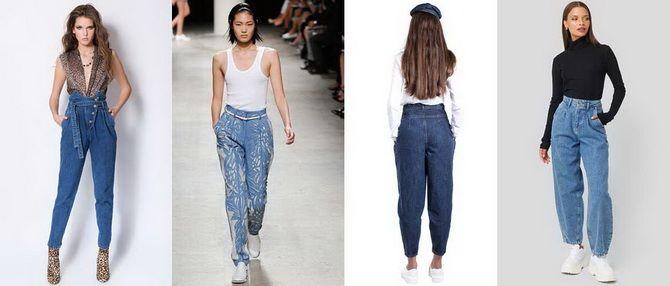 С чем носить джинсы-бананы в 2020 году: 45 модных идей 12