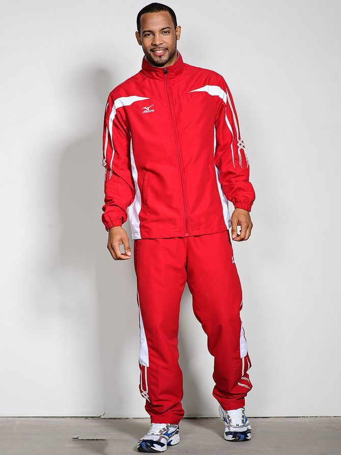 красный спортивный костюм мужской