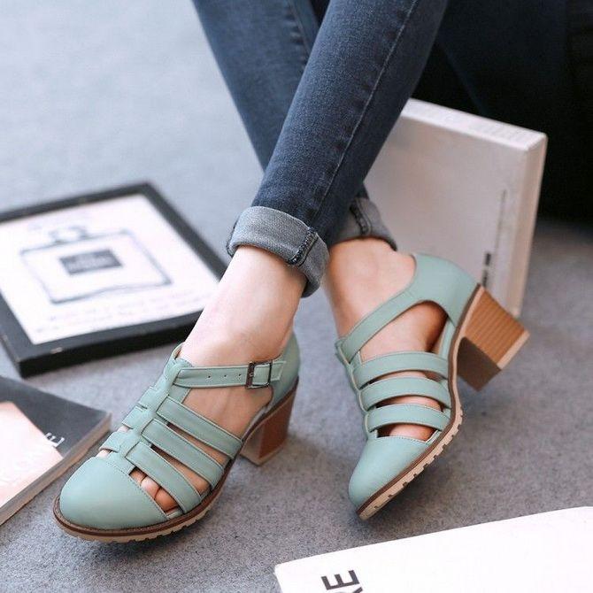 модная обувная тенденция 2020