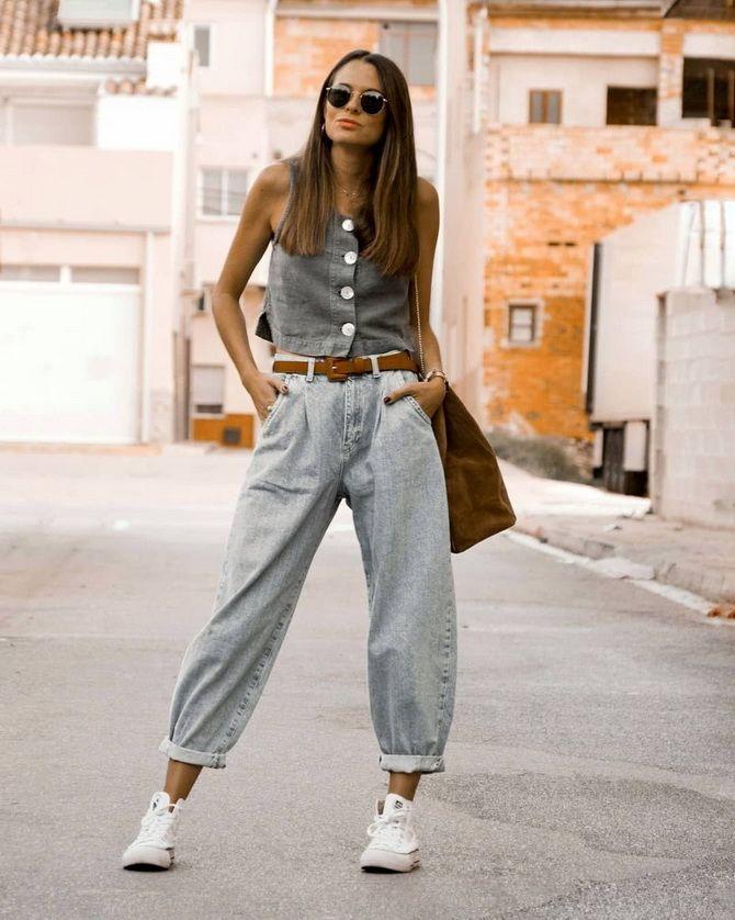 джинсы слоучи кому идут