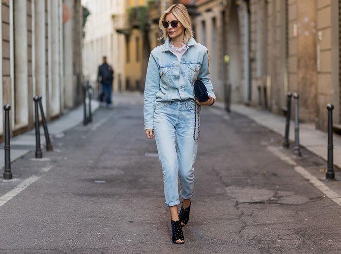 джинсы бойфренды большие