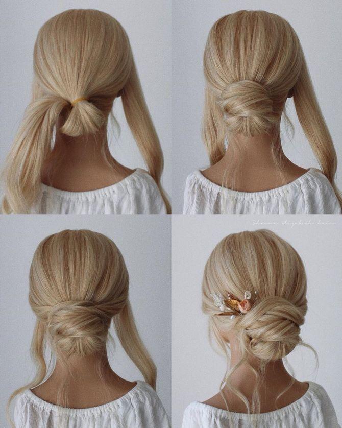 прически на длинные волосы девочки на выпускной