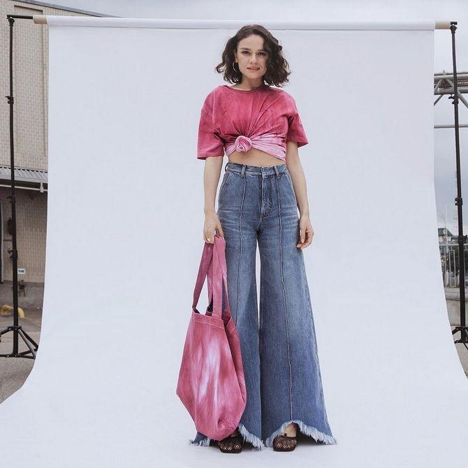 ношу широкие джинсы