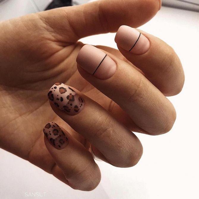 маникюр на короткие ногти весна