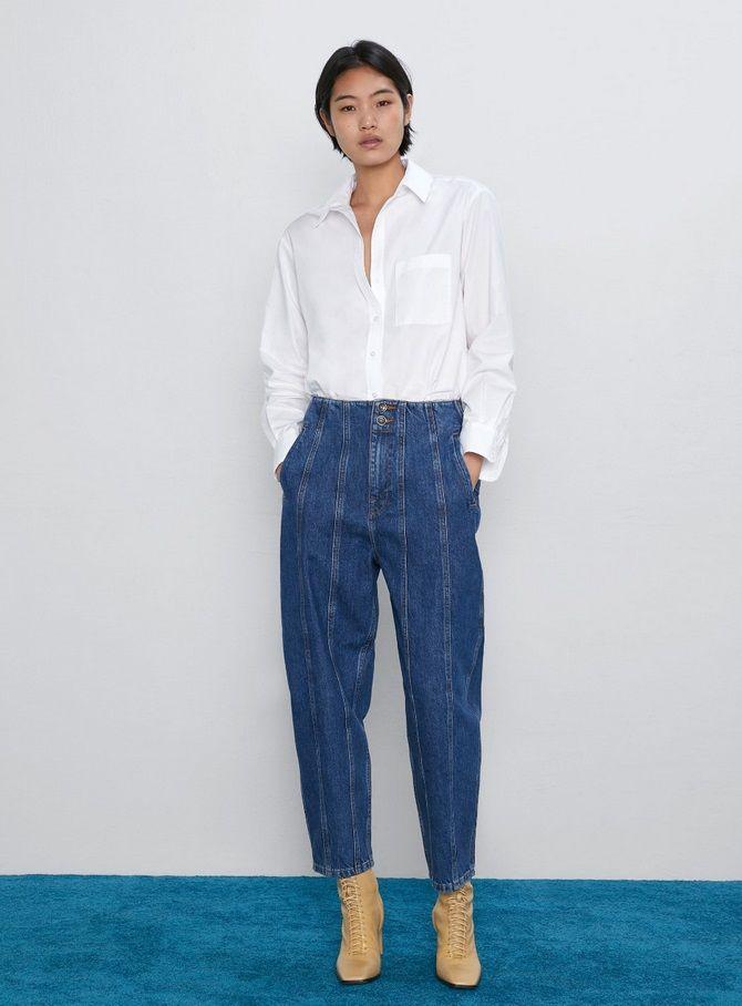 З чим носити джинси-банани в 2021 році: 45 модних ідей 5