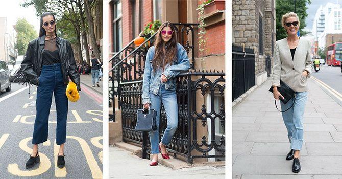 С какой обувью сочетать джинсы