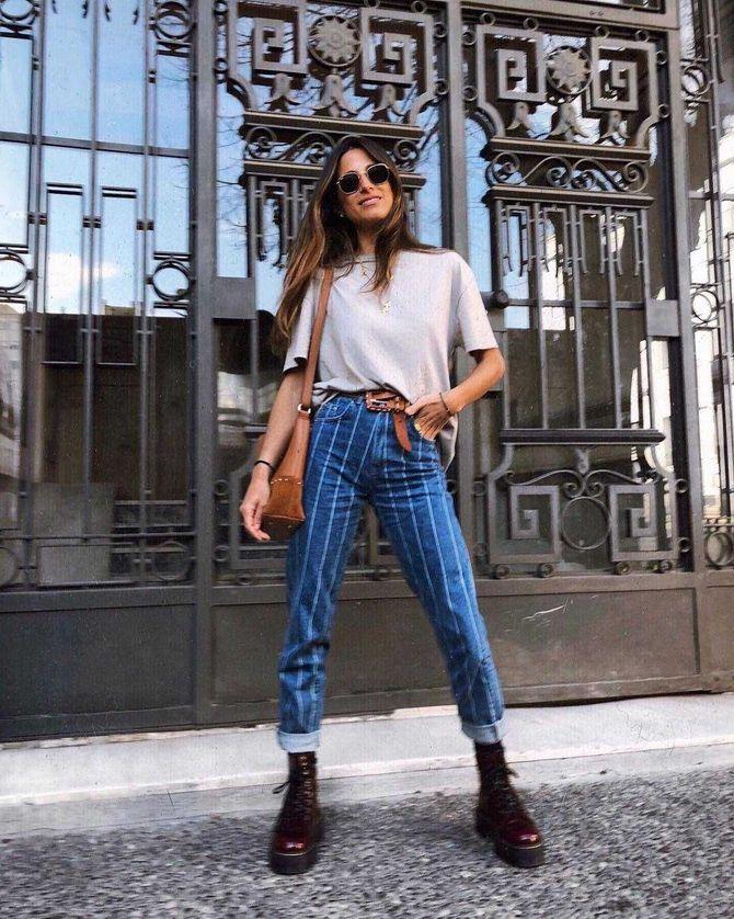 мартинсы и джинсы